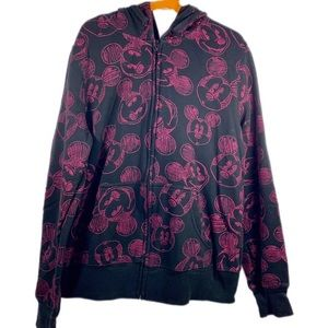 Disney Tops - Disney Soft Zip Up Hoodie Mickey Mouse